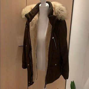 Zara winter coat ❄️